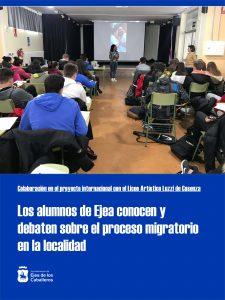 El Ayuntamiento de Ejea colabora con el IES Reyes Católicos en su proyecto internacional con el Liceo Artístico Luzzi de Cosenza