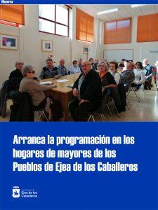 Lee más sobre el artículo En marcha el programa de actividades para mayores en los Pueblos de Ejea de los Caballeros