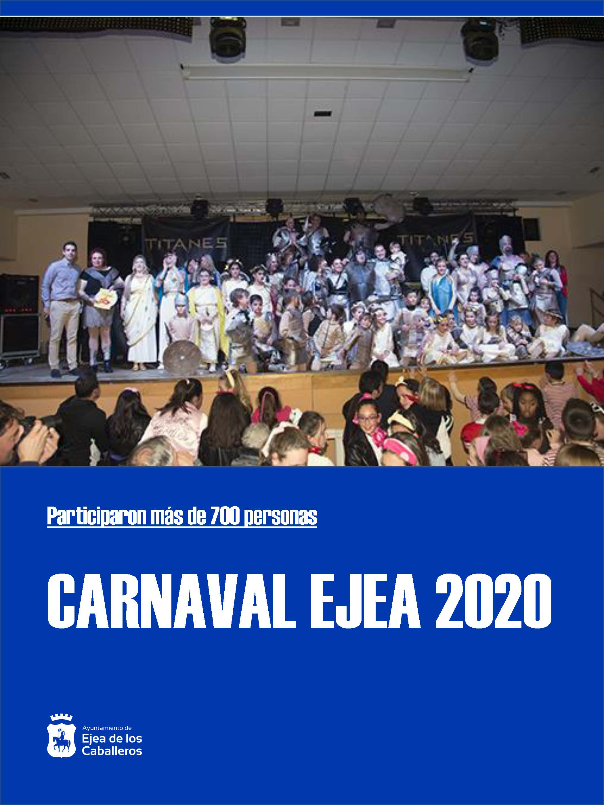 El Concurso de disfraces del Carnaval 2020 de Ejea ofreció un espectáculo de primer nivel a la ciudadanía