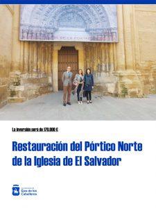 Restauración del Pórtico Norte de la Iglesia de El Salvador en Ejea de los Caballeros