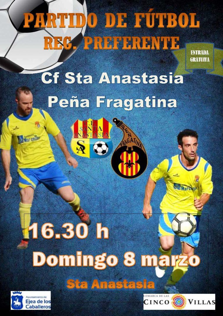 Fútbol Santa Anastasisa-Fraga