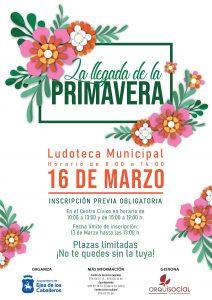 La Ludoteca Municipal de Ejea de los Caballeros se prepara para dar la bienvenida a la Primavera