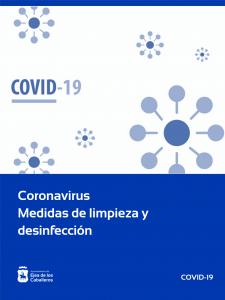 Coronavirus-Medidas de limpieza y desinfección