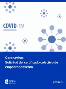 Tramitación de certificado de empadronamiento para la moratoria en el pago de cuotas hipotecarias de colectivos vulnerables