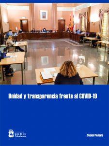El Pleno del Ayuntamiento de Ejea de los Caballeros exhibe unidad y transparencia en un una sesión monográfica de la COVID-19