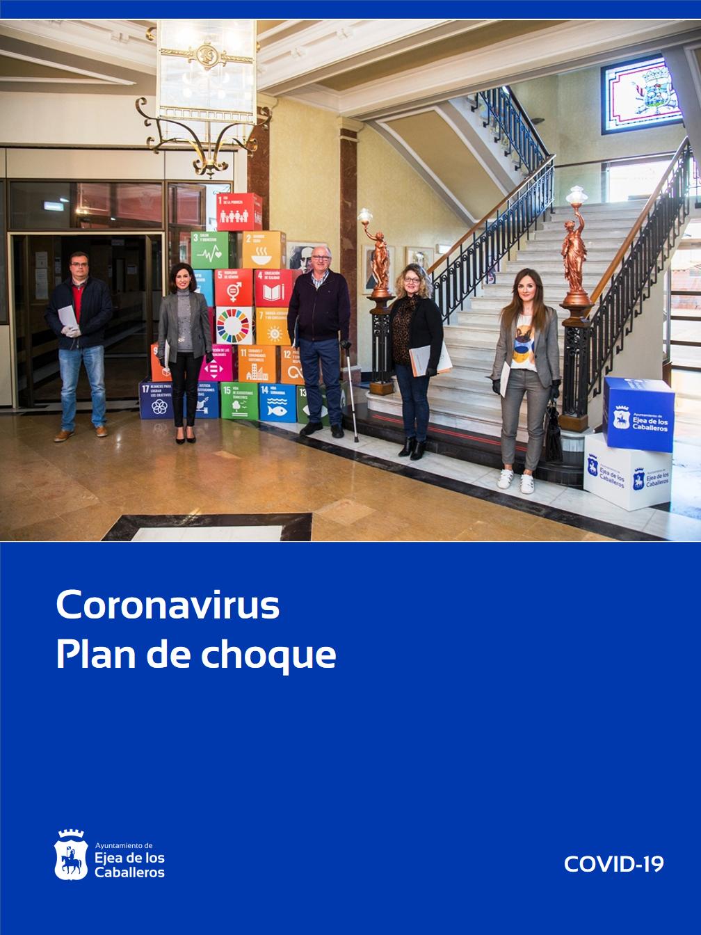 El Ayuntamiento de Ejea de los Caballeros destinará 1.800.000 euros a un plan de choque para luchar contra el Coronavirus