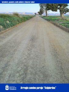 Mejoras de caminos rurales en varias zonas de Ejea de los Caballeros y del Monte Bardena