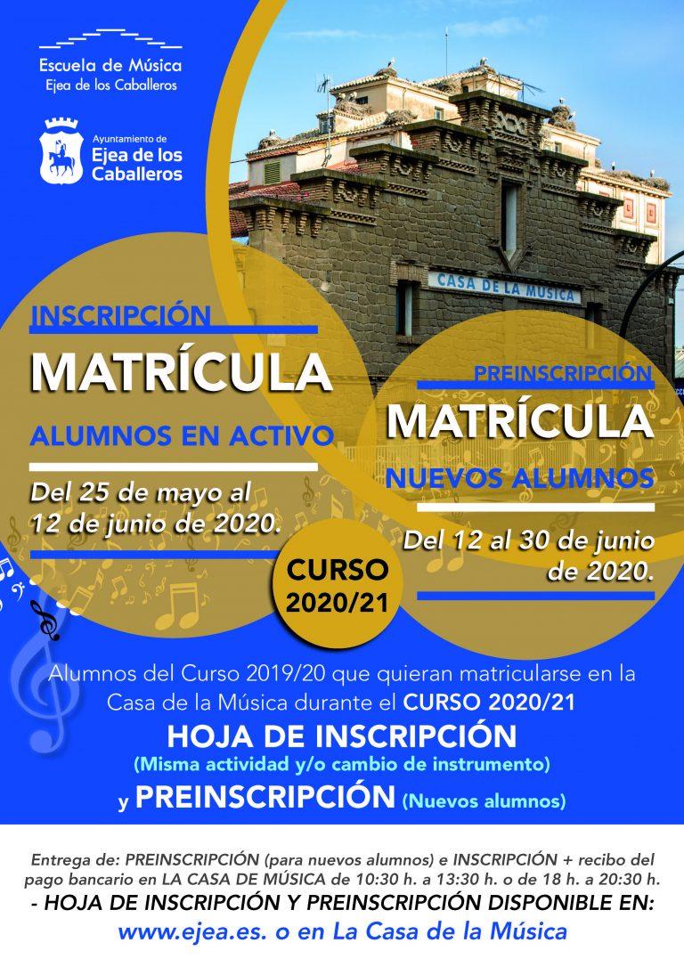 La Escuela de Música inicia su periodo de matrículas y aborda la planificación del nuevo curso
