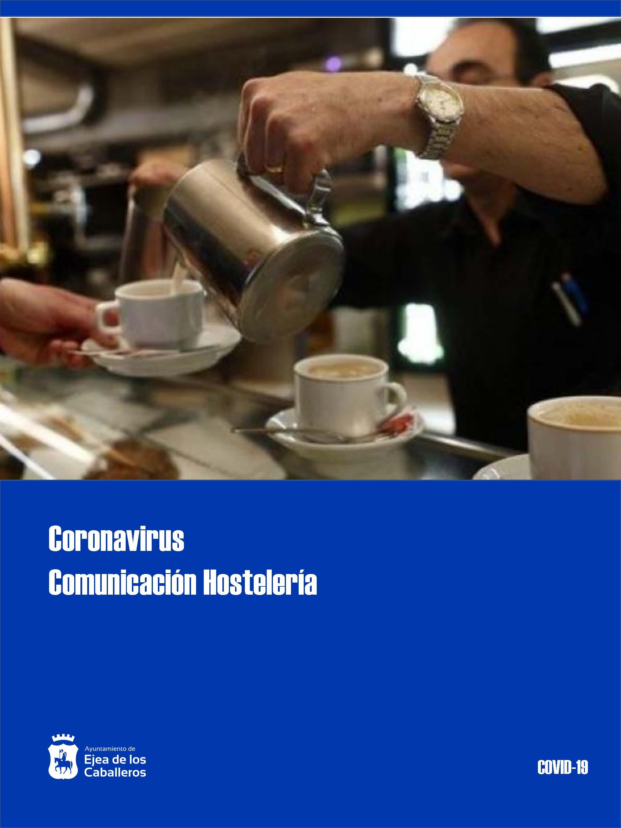 Comunicación- Reapertura de terrazas de hostelería