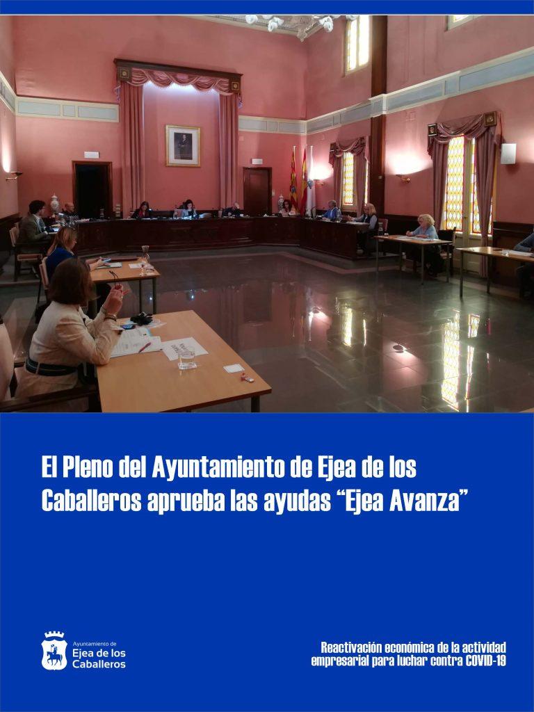 El Ayuntamiento de Ejea de los Caballeros destinará 1.300.000 euros para la reactivación económica de la actividad empresarial
