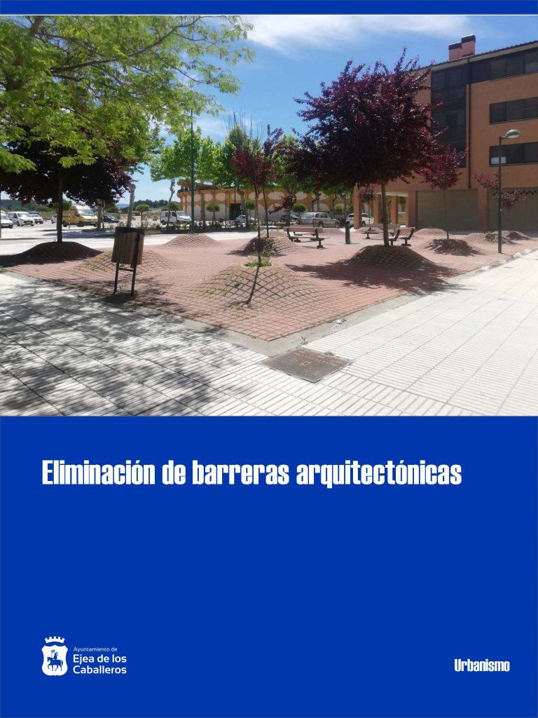 Eliminación de barreras arquitectónicas y pavimentación de plazas en varias zonas de Ejea de los Caballeros