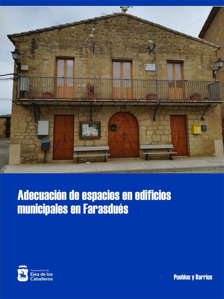 Adecuación de espacios y mejora de accesibilidad en edificios municipales de Farasdués
