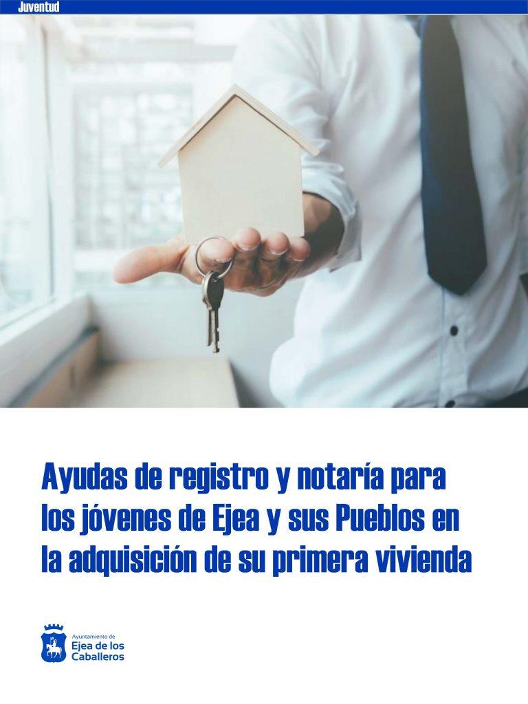 El Ayuntamiento de Ejea de los Caballeros apoya a sus jóvenes en la compra de su primera vivienda