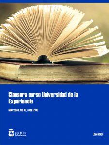 Acto de Clausura único y para todas las sedes del curso 2019-2020 de la Universidad de la Experiencia