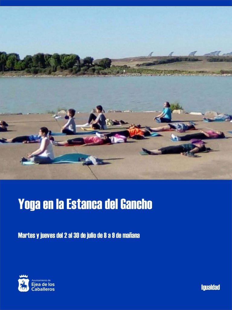 Clases de yoga en la Estanca del Gancho