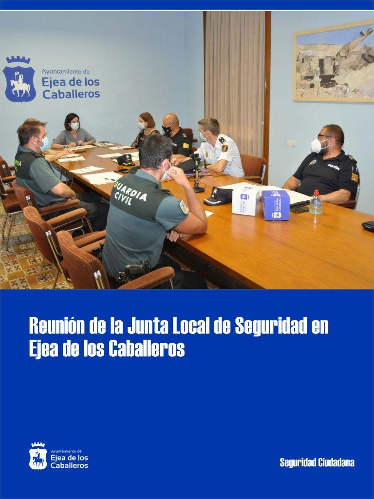La Junta Local de Seguridad se reúne en Ejea de los Caballeros