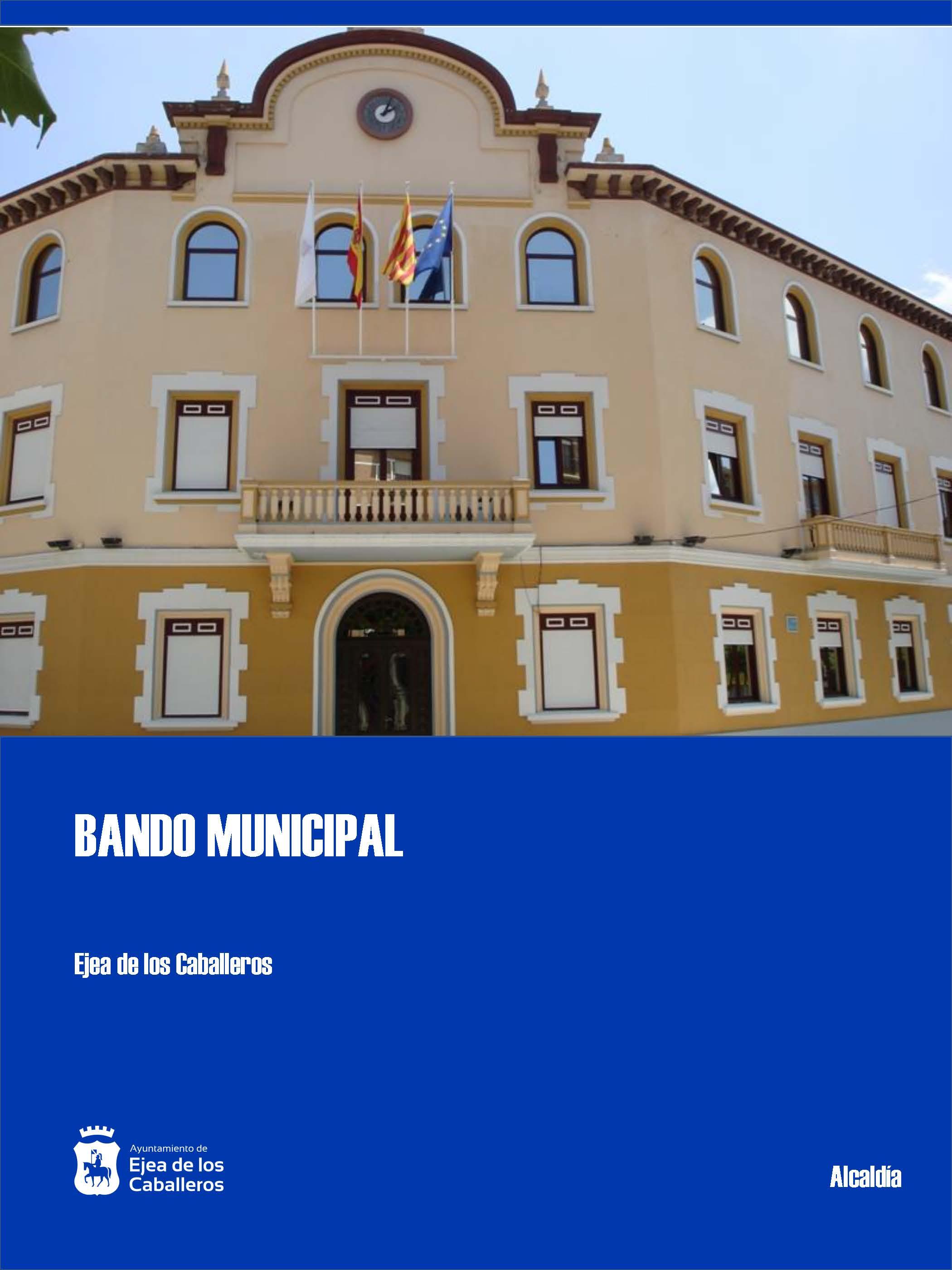 BANDO MUNICIPAL