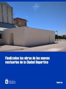 La Ciudad Deportiva de Ejea de los Caballeros estrena vestuarios