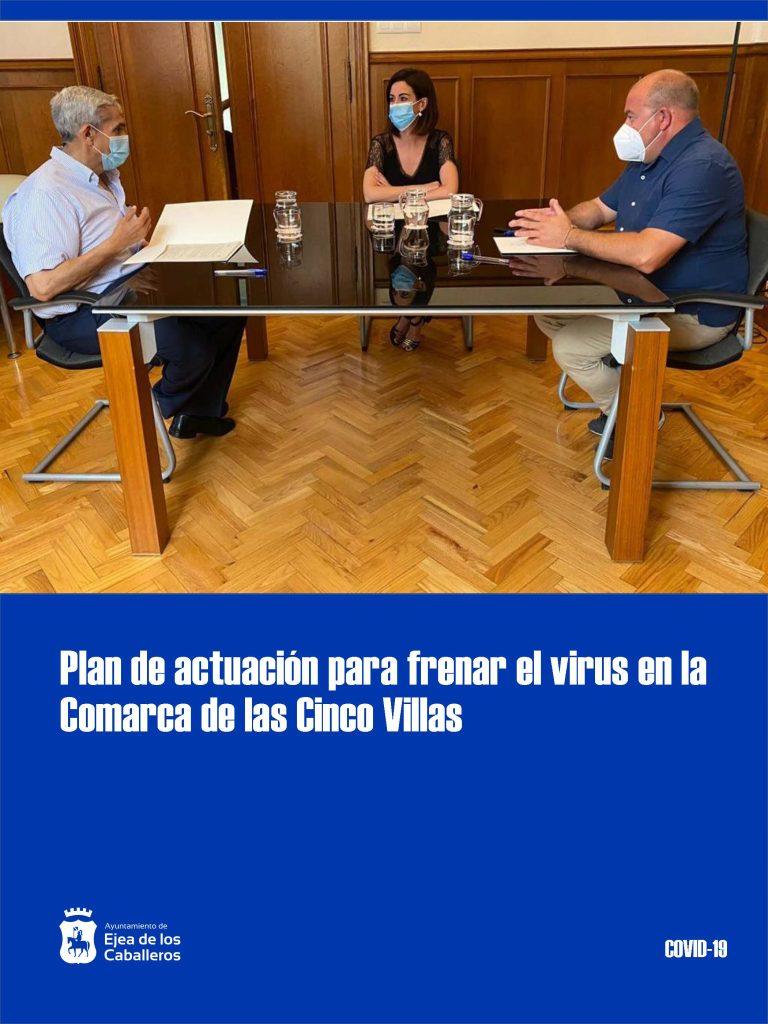 La Comarca de las Cinco Villas lanza un plan de actuación para intentar frenar el virus en sus municipios