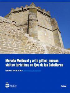«Ejea, una historia escrita en las piedras» y «Ejea gótica», dos nuevas ofertas de visita guiada de la Oficina de Turismo de Ejea de los Caballeros