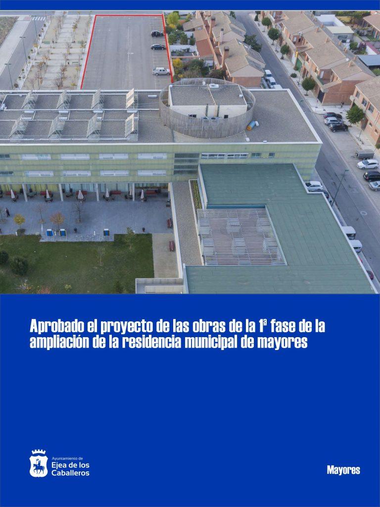 Avanzan los trámites para la ampliación de la residencia municipal de mayores de Ejea de los Caballeros