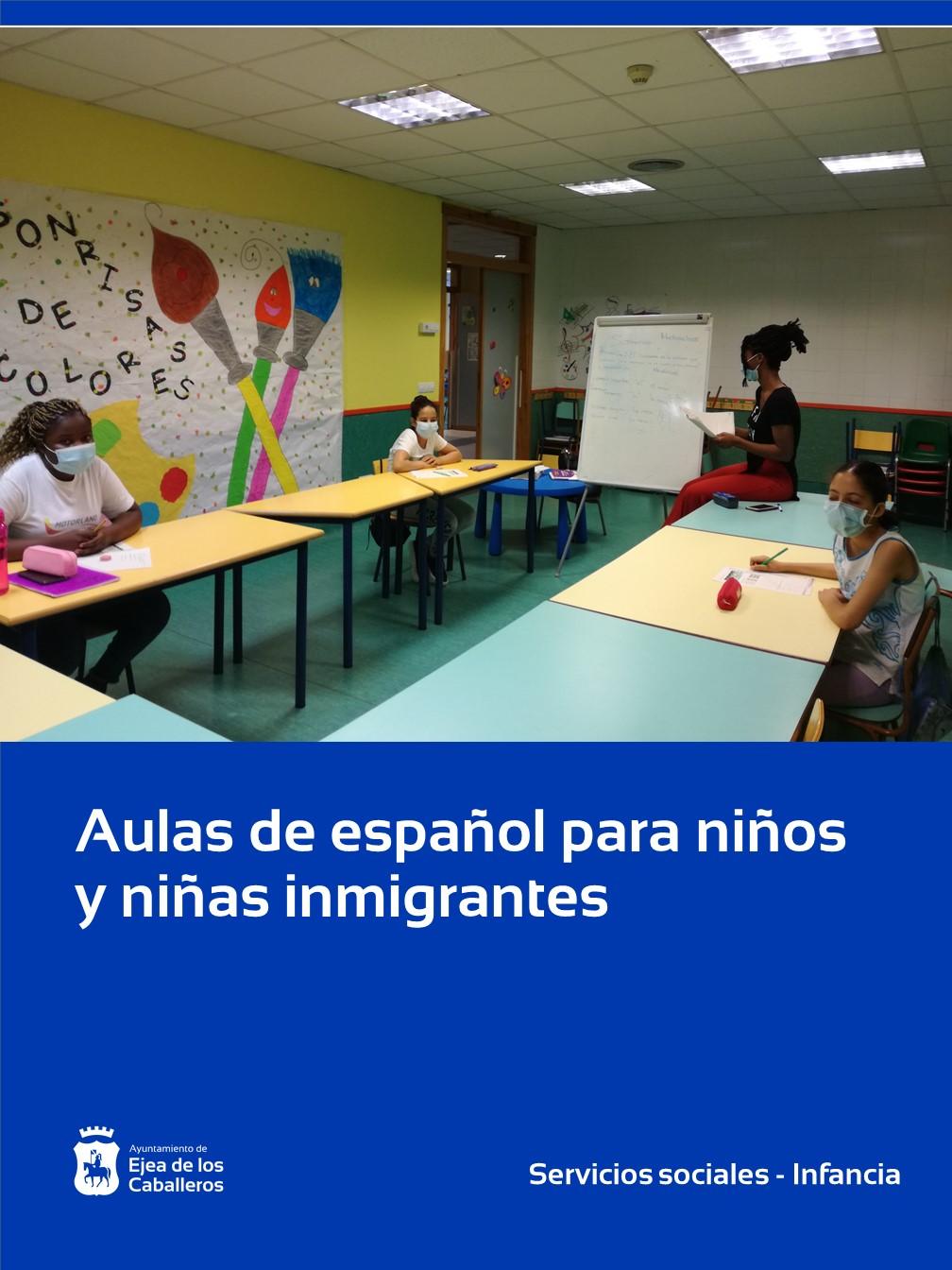 Aulas de español para niños y niñas inmigrantes en Ejea de los Caballeros