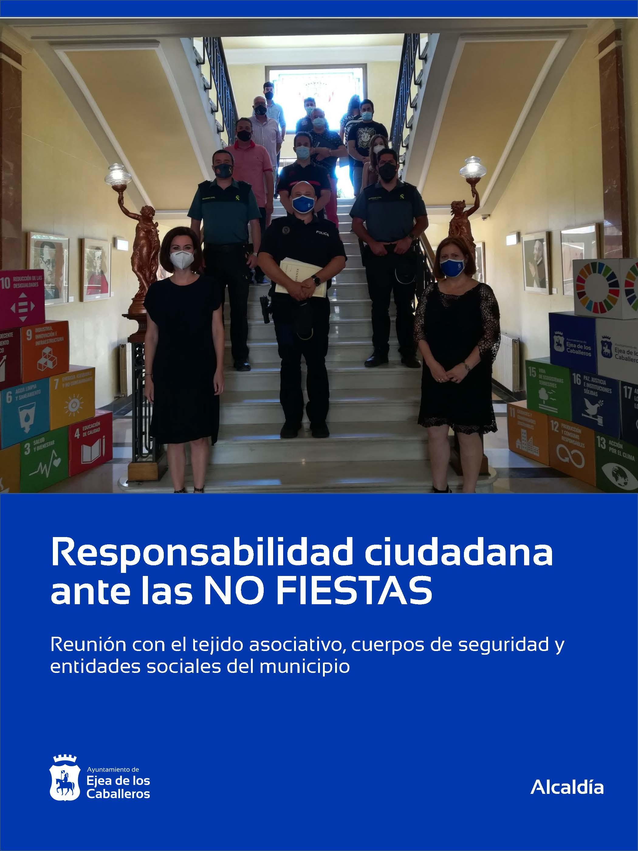 Las NO FIESTAS, responsabilidad de todos y todas