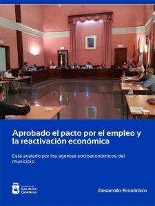 El Ayuntamiento de Ejea aprueba un Pacto por el Empleo y la Reactivación Económica avalado por los agentes socioeconómicos