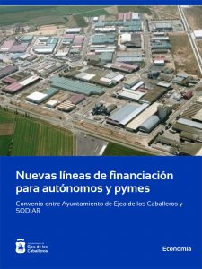 El Ayuntamiento de Ejea de los Caballeros y SODIAR facilitan la financiación a autónomos y pymes afectados por la COVID-19