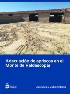Mejora de apriscos en el Monte de Valdescopar