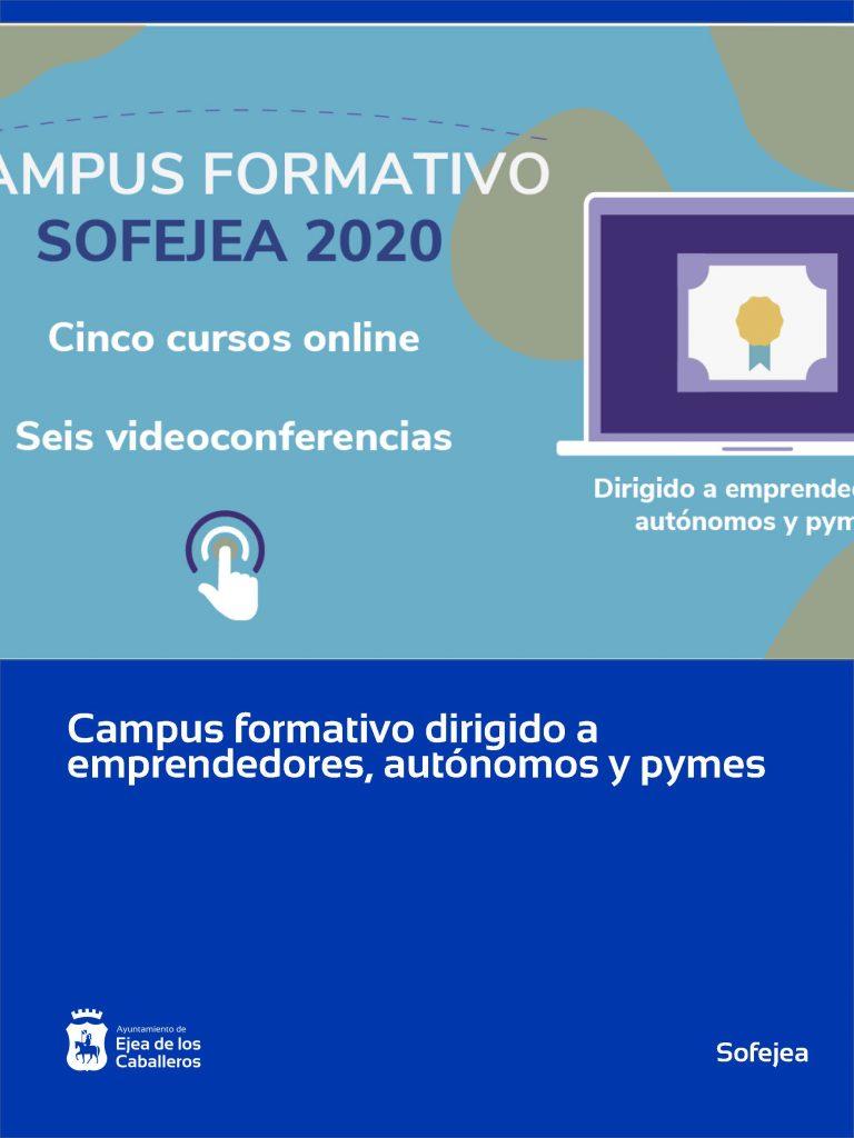 Sofejea pone en marcha un campus formativo online para emprendedores, autónomos y pymes