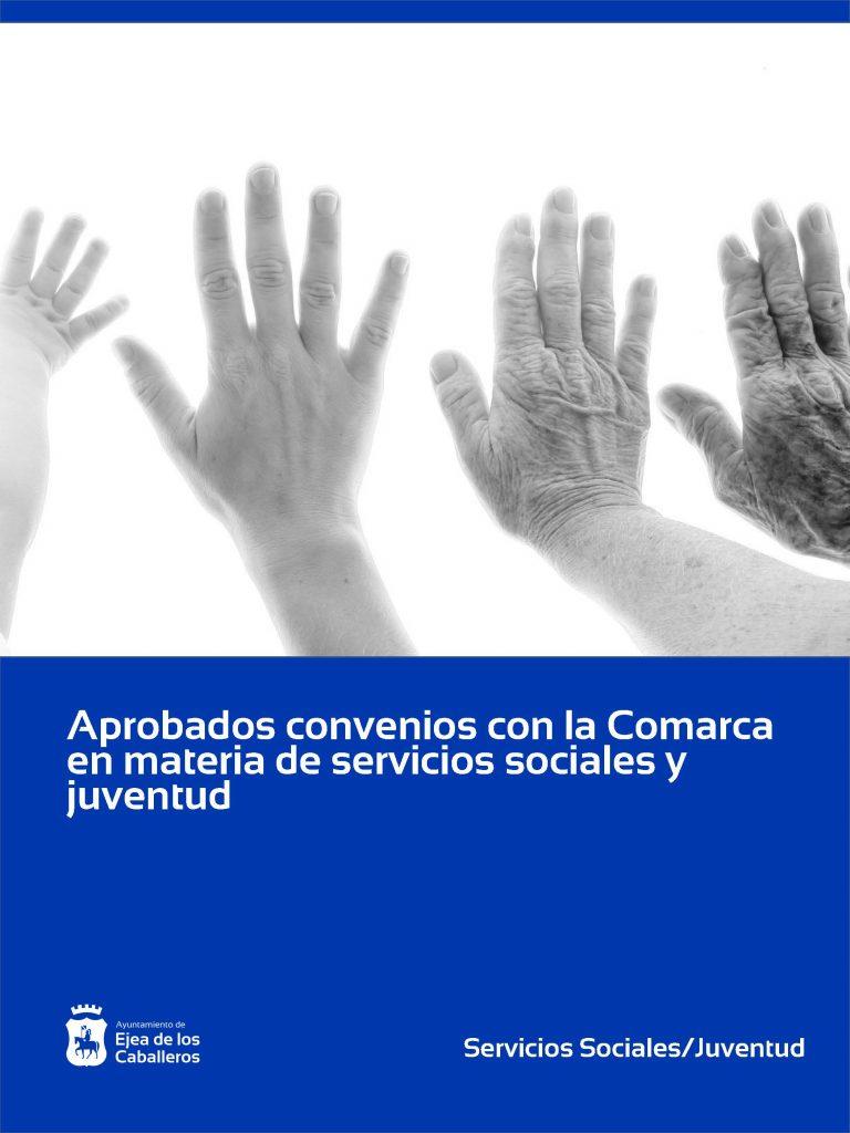 El Ayuntamiento de Ejea de los Caballeros y la Comarca de las Cinco Villas suscriben varios convenios de colaboración en materia de juventud y servicios sociales