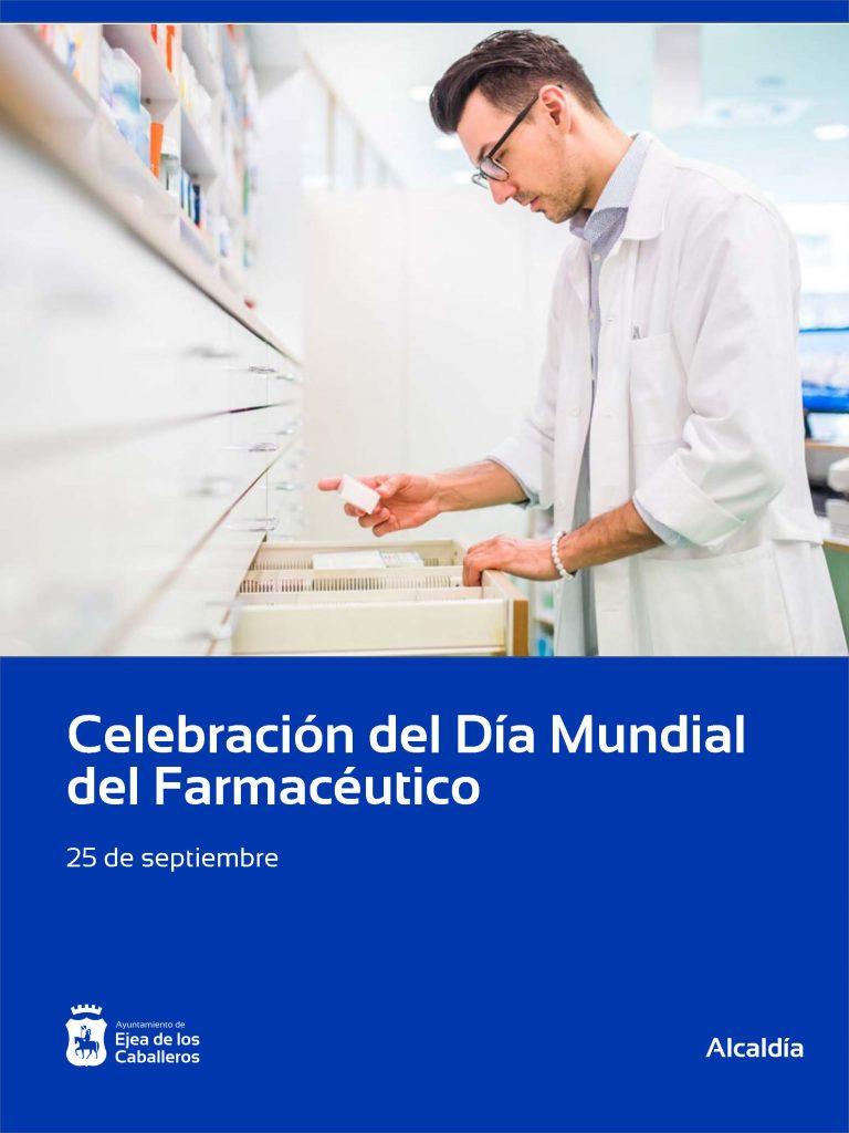 El Ayuntamiento de Ejea de los Caballeros apoya al sector farmaceútico en el Día Mundial del Farmaceútico
