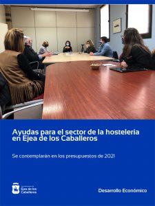 El Ayuntamiento de Ejea de los Caballeros contemplará ayudas al sector de la hostelería en el presupuesto del año 2021