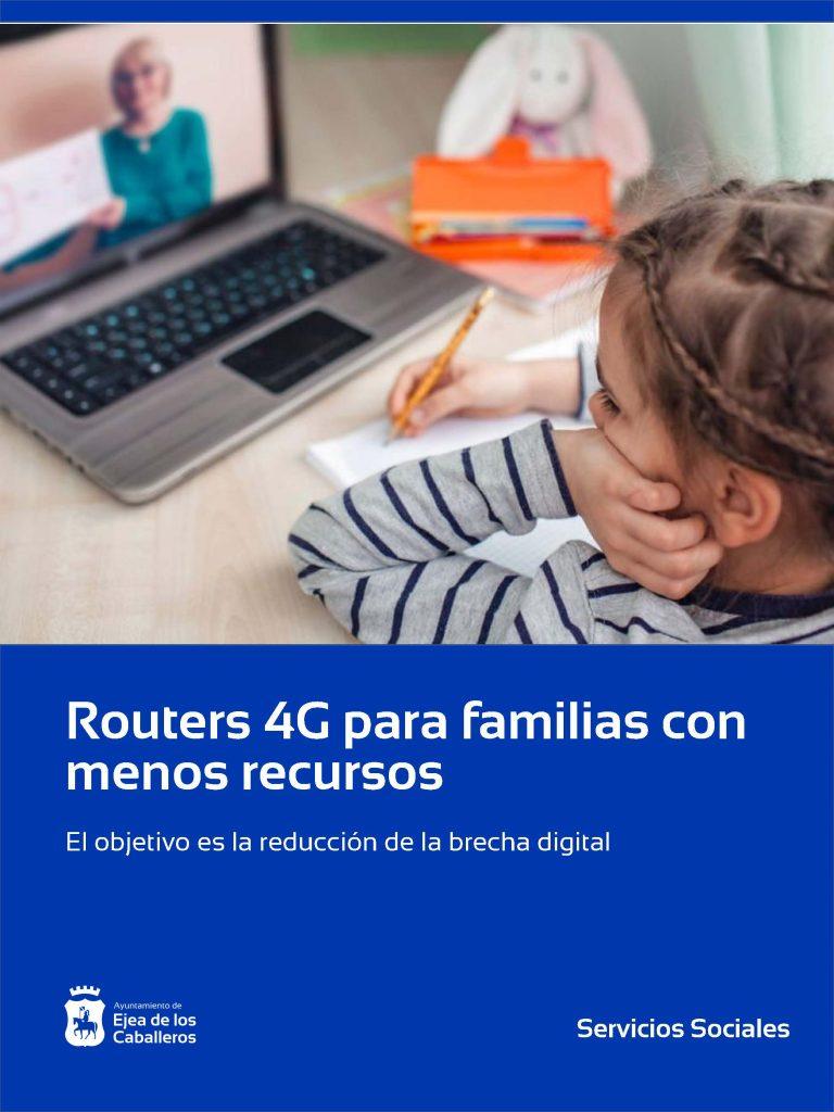 El Ayuntamiento de Ejea de los Caballeros ofrece routers a las familias con menos recursos