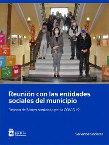 El Ayuntamiento de Ejea de los Caballeros reparte 8 lotes sanitarios a las entidades sociales por la COVID-19