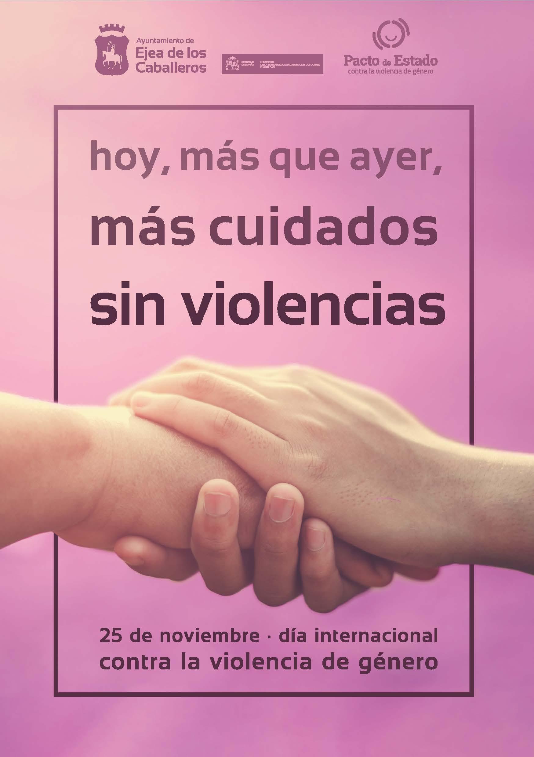 En este momento estás viendo Ejea conmemora el día internacional contra la eliminación de las violencias contra las mujeres
