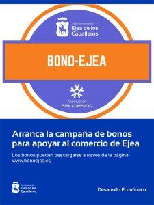 Arranca la campaña de bonos para compras en los comercios de Ejea de los Caballeros y sus Pueblos