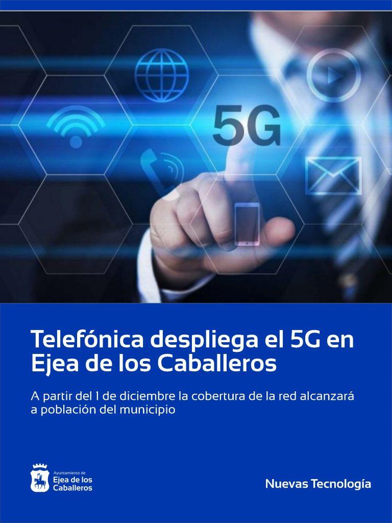 Telefónica despliga el 5G en Ejea de los Caballeros