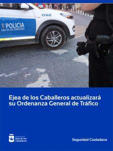 El Ayuntamiento de Ejea de los Caballeros actualizará su ordenanza general de tráfico