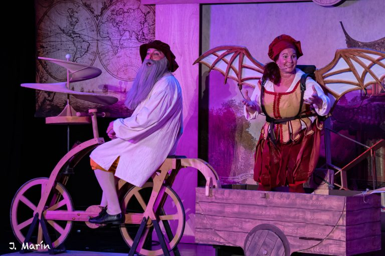 Teatro infantil «El Misterio de Da Vinci»