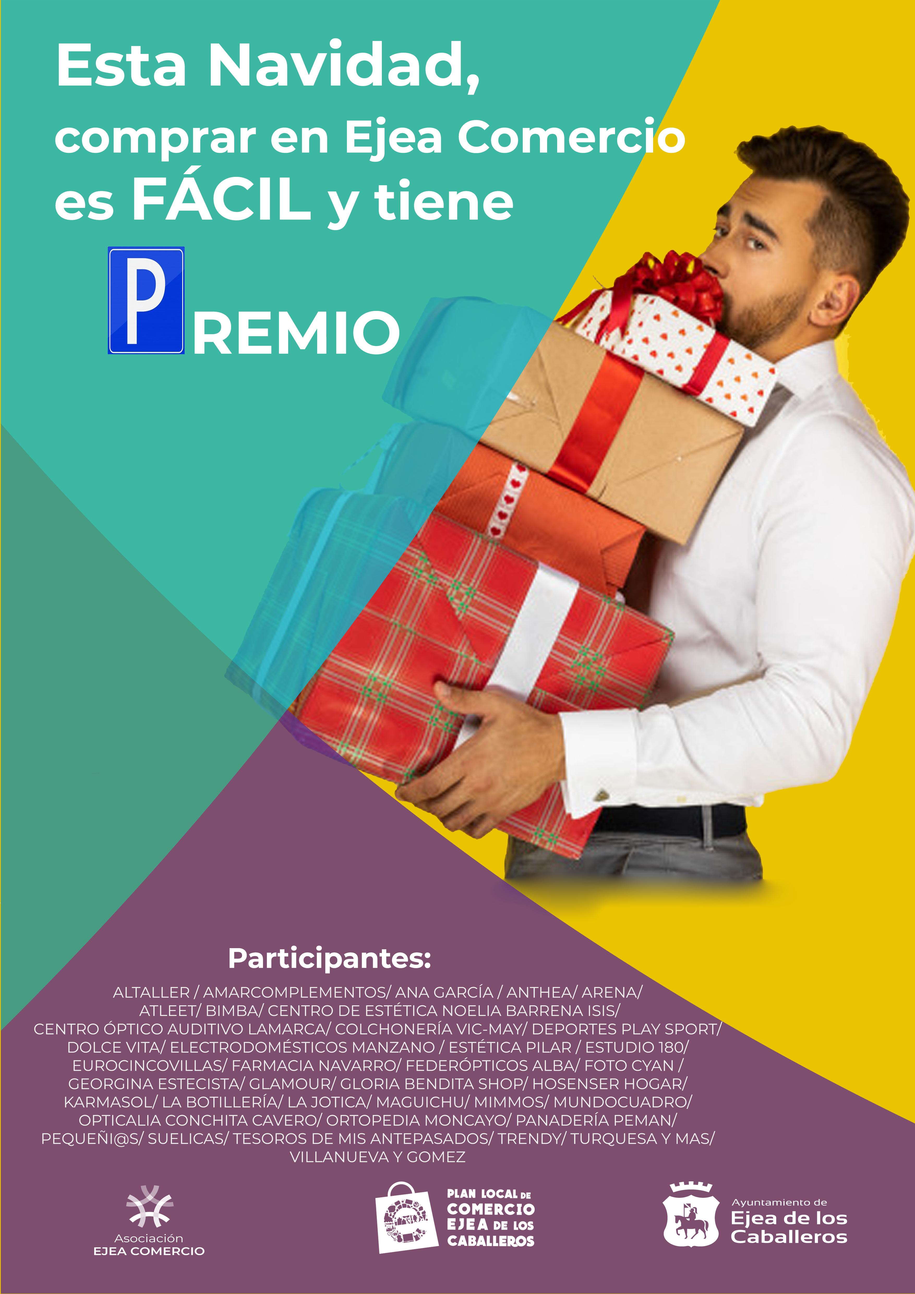 El Ayuntamiento de Ejea de los Caballeros y Ejea Comercio incentivan las compras navideñas entregando tickets de parking gratuitos