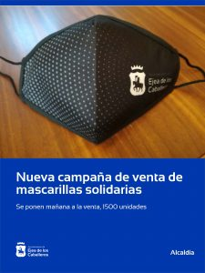 El Ayuntamiento de Ejea de los Caballeros realiza una nueva campaña de venta de mascarillas solidarias