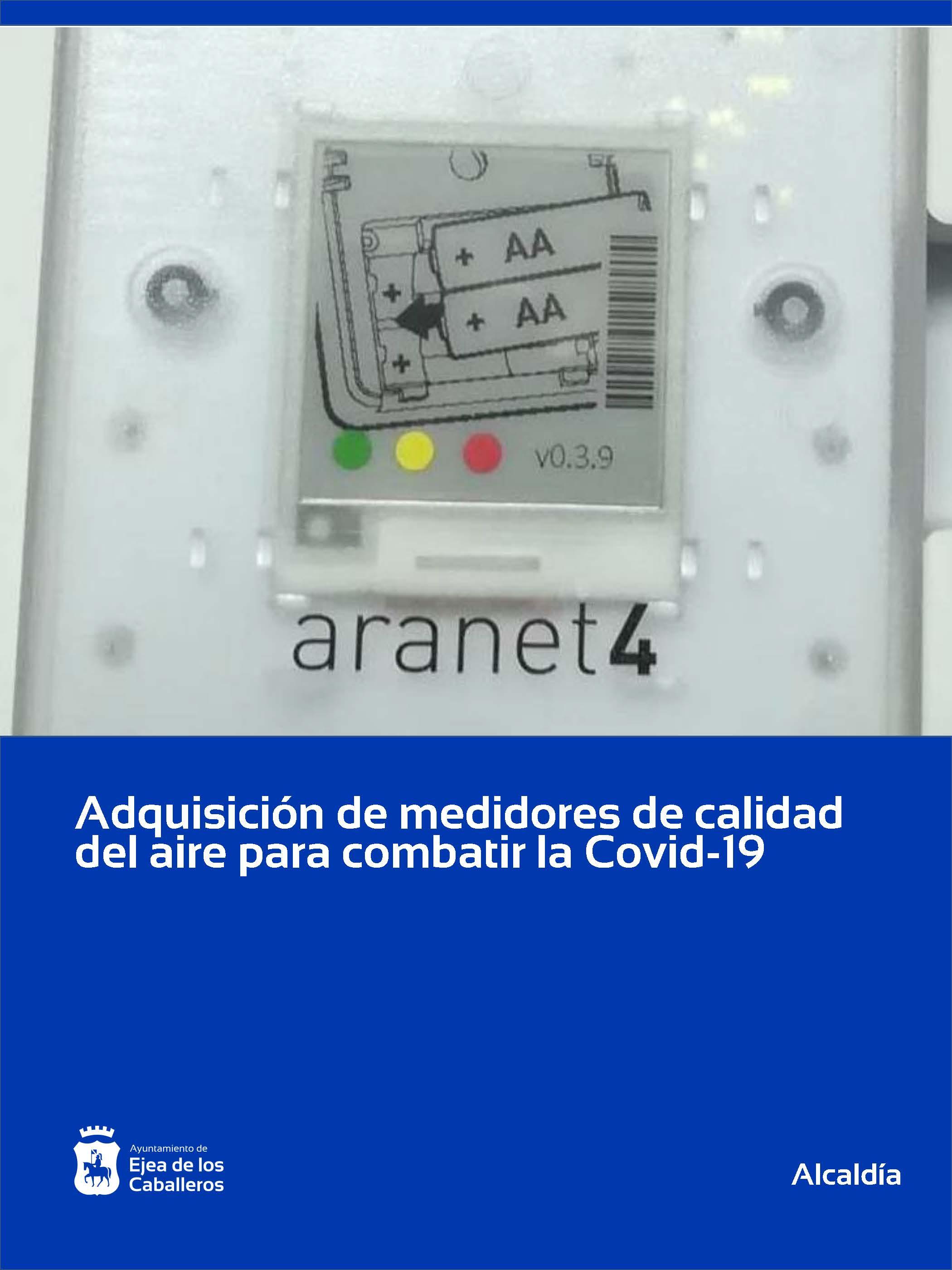 Instalación de medidores de calidad del aire en edificios municipales