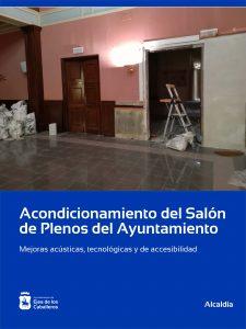 El Ayuntamiento de Ejea de los Caballeros realiza mejoras acústicas, tecnológicas y de accesibilidad en el Salón de Plenos