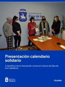 Lee más sobre el artículo El calendario solidario para la lucha contra el cáncer ya está a la venta en Ejea