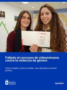 Fallado el concurso de videominutos contra la violencia de género en Ejea