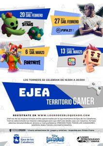 """Nueva propuesta de ocio juvenil seguro: Torneo online """"Ejea Territorio Gamer"""""""