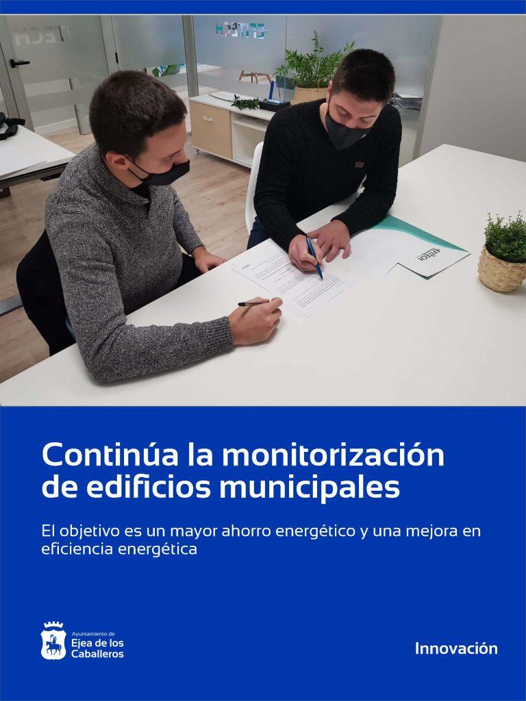 Ejea de los Caballeros continúa monitorizando sus edificios municipales para el ahorro energético