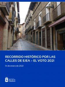 Ejea de los Caballeros celebrará el Día del Voto con un recorrido histórico para grupos reducidos